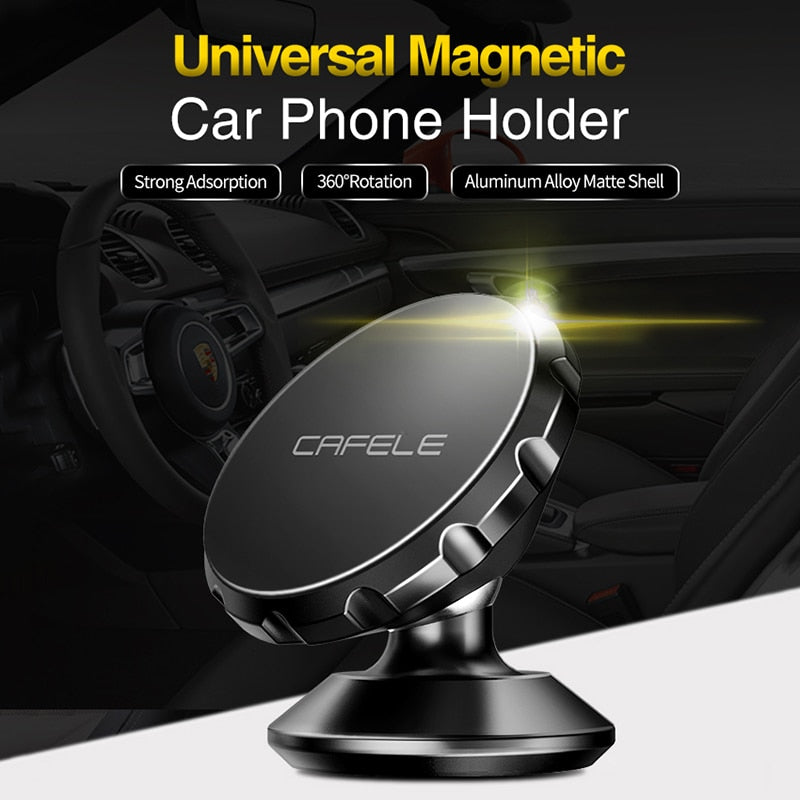 Magnetic Car Phone Holder Stand For iphone Samsung Air Vent GPS Universal Holder - GTG