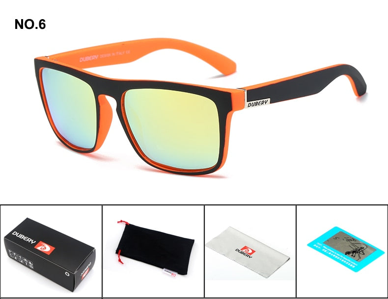 50825ec26c Polarized Sunglasses Men s Driving Shades Male Sun Glasses For Men Retro -  GTG