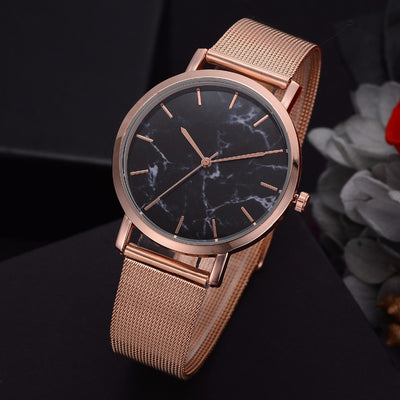 2018 Lvpai Brand Luxury Women Gold Mesh Fashion Bracelet Dress Quartz Wristwatch - GTG