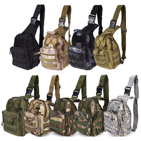 600D Outdoor Bag Military Tactical Bags Backpack Shoulder Camping Hiking Bag - GTG