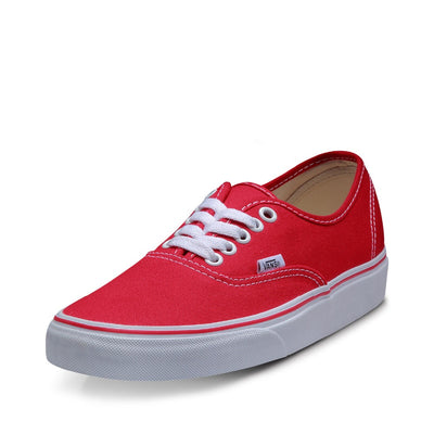 Original Red Vans Sneakers Men Women Classic Low-top Skateboarding Shoes Sneakers Canvas Comfortable Vans Shoes VN-0EE3RED - GTG