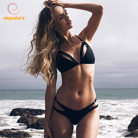 Sexy Bikini 2018 Swimwear Women Brazilian Bikini Push Up Swimsuit Bandage Bathing Suit - GTG