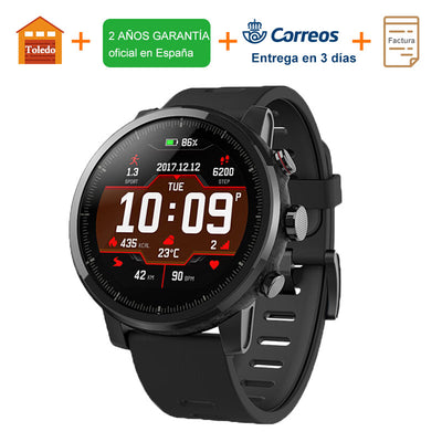 2018 Xiaomi Huami Amazfit Stratos 2 Smart Watch Men GPS 5ATM Heart Rate Monitor - GTG