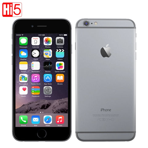 Unlocked Apple iPhone 6 mobile phone 4.7 inch Dual Core 16G/64G/128GB Rom IOS 8MP - GTG