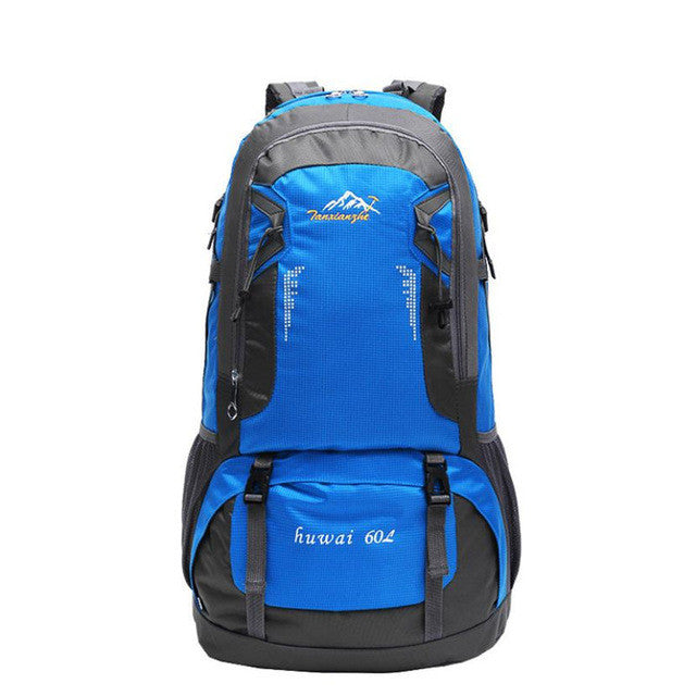 60L Pro Outdoor Hiking Bag Camping Travel Waterproof Mountaineering Backpack - GTG