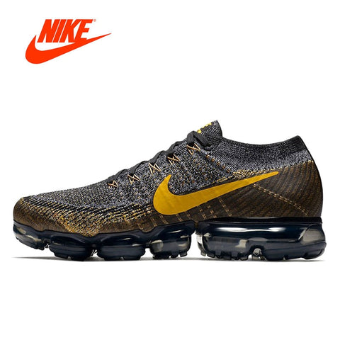 Original New Arrival Authentic Nike Air Vapormax Flyknit Men's Sport Outdoor Sneakers - GTG