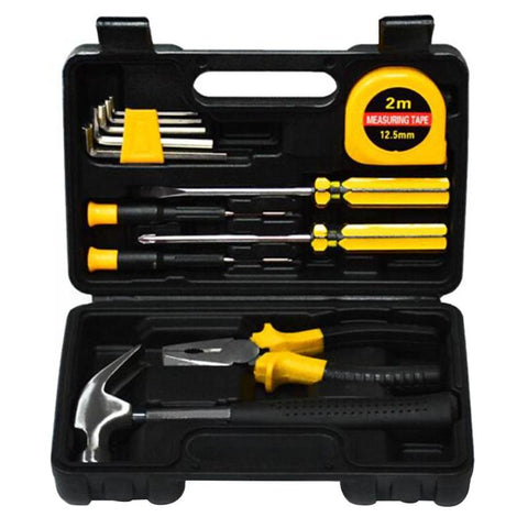 13Pcs Home Repair Tool Kit Set Electrician Hand Tool Set Kit Household Tool Kit - GTG
