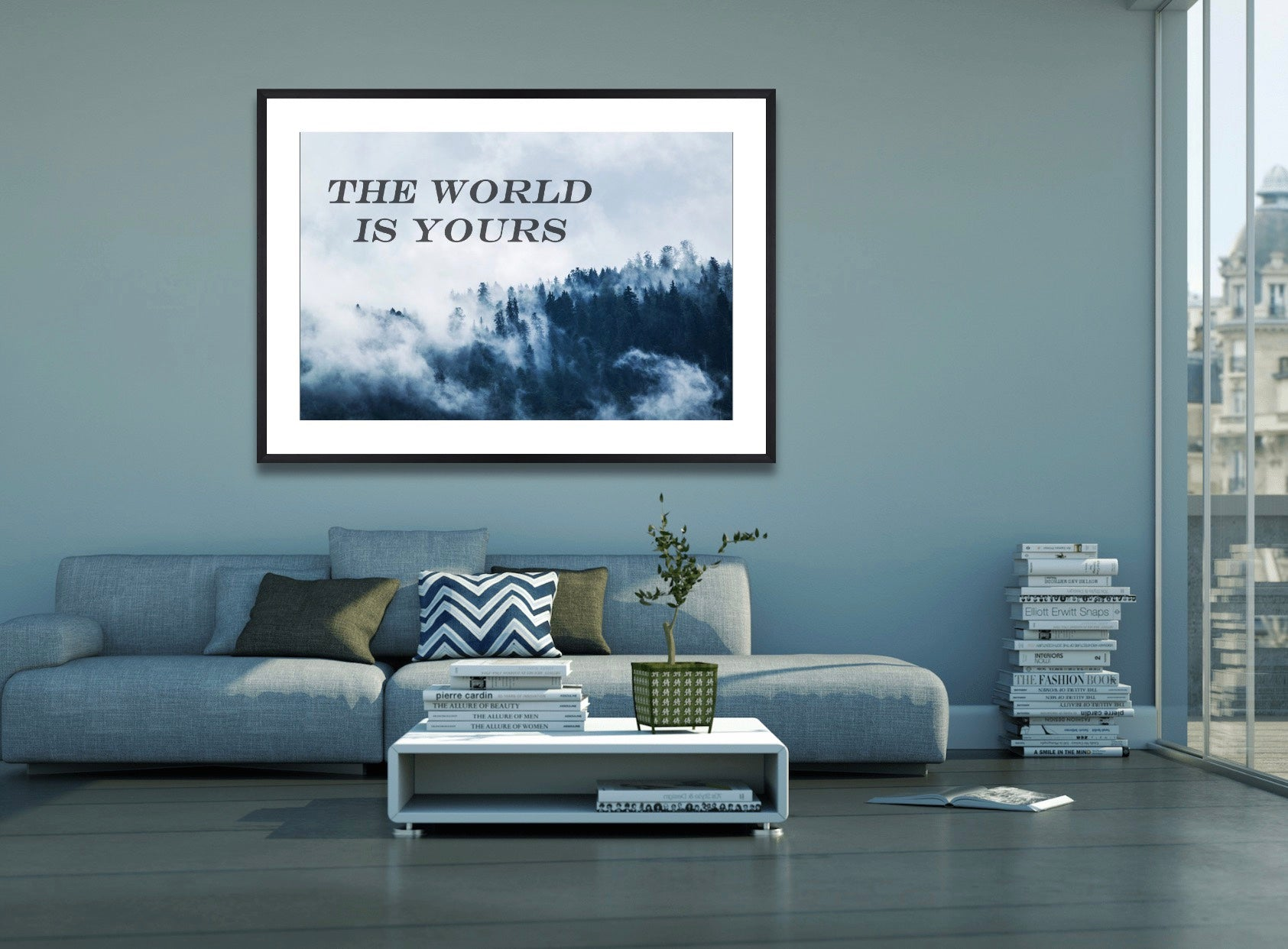 THE WORLD IS YOURS - POSTER