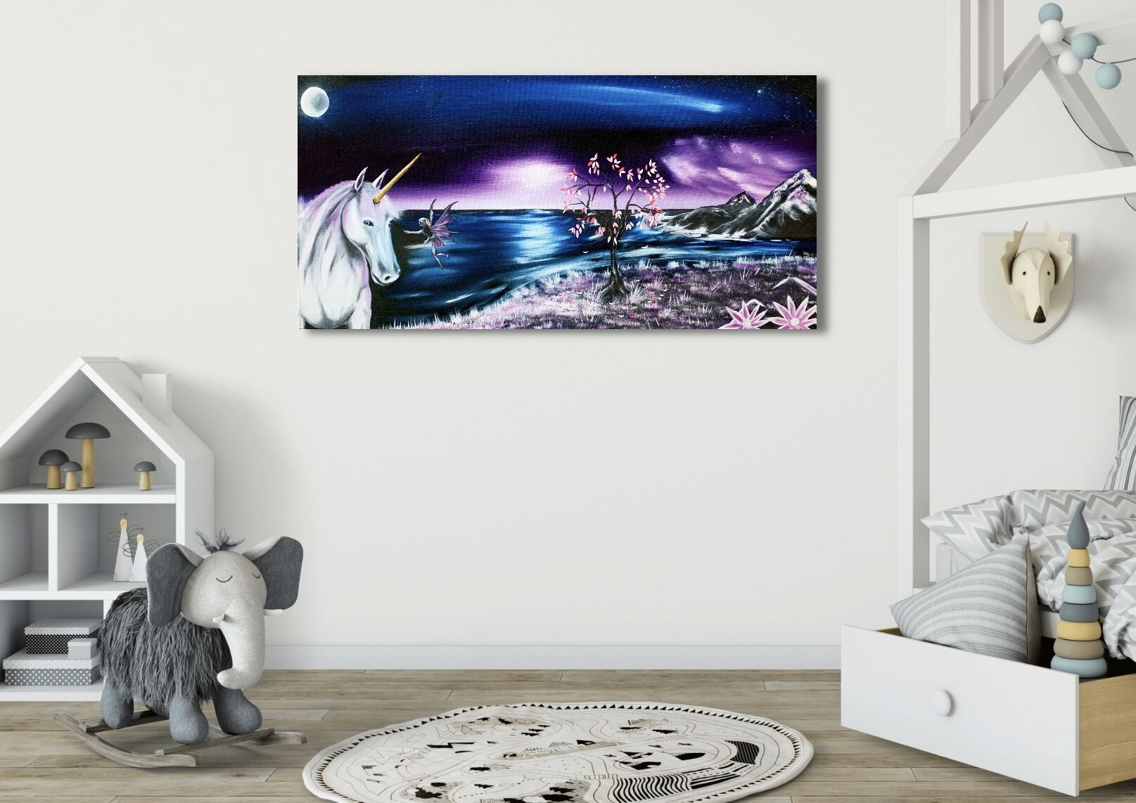 Magic Unicorn - Print
