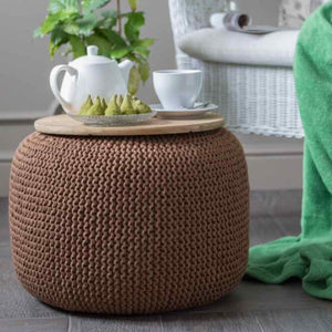 Knitted Pouffe - For Which Needs ?