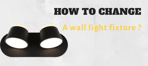 How to change a wall light fixture blog