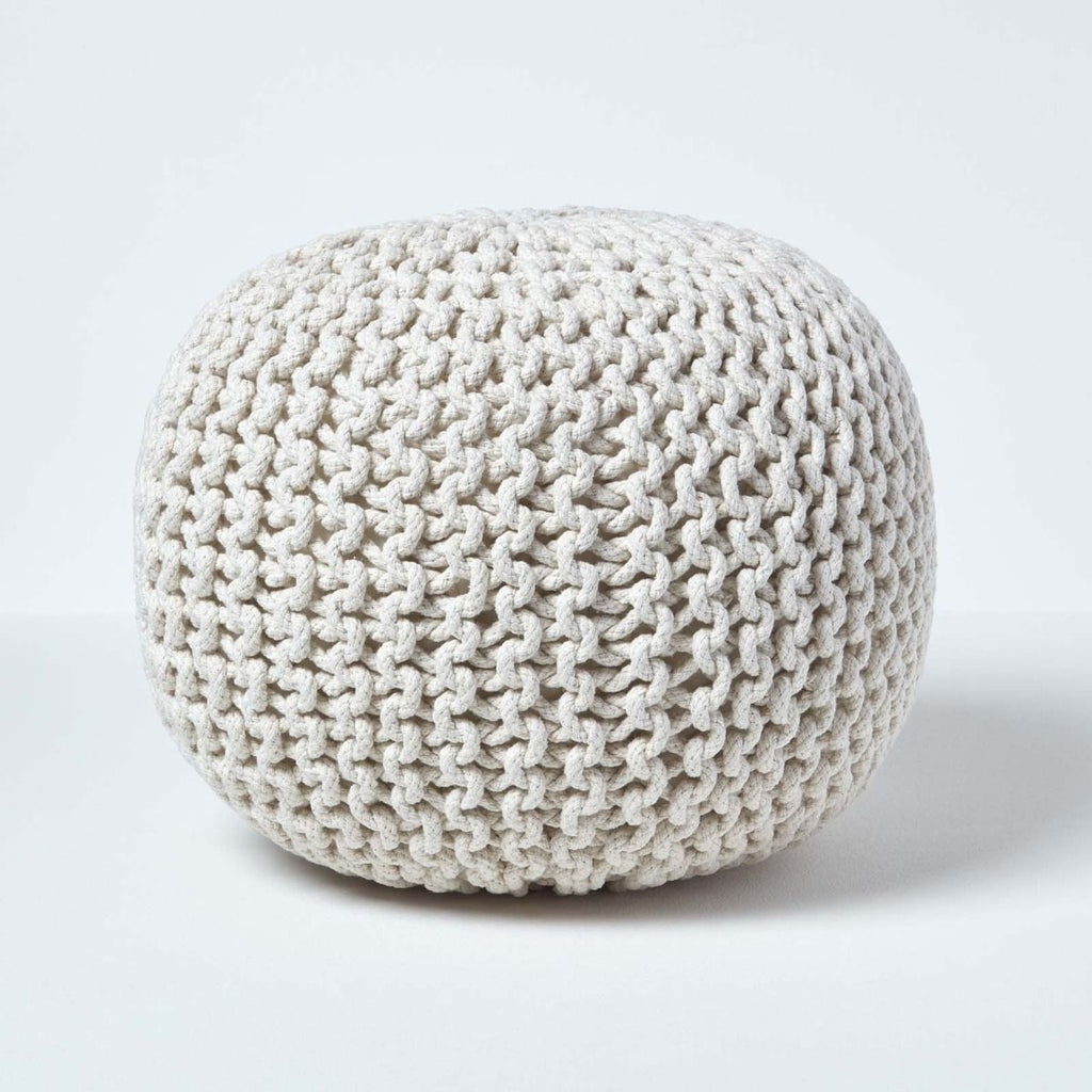 The Knitted Pouffe Trend !