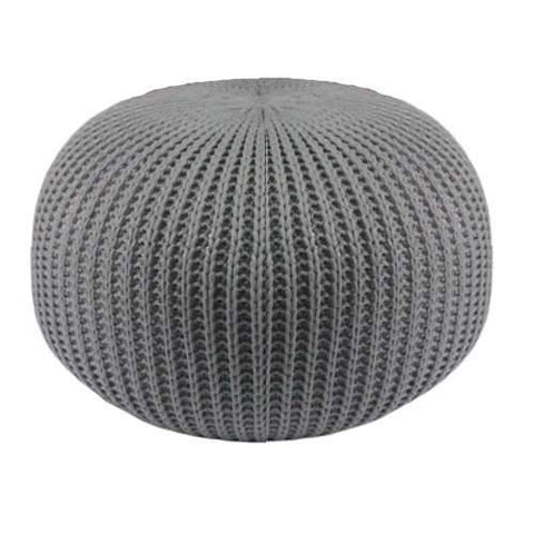 RESTER GRAY LARGE CUSHION FOR FLOOR