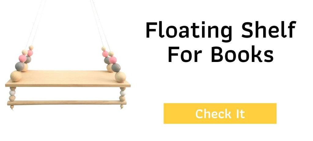 Hund Pink - Floating Shelves For Books