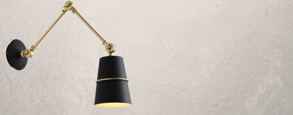 Wall Lamp With Swing Arm - Slagof