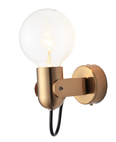 Sema Gold Wall Lamp With Swing Arm