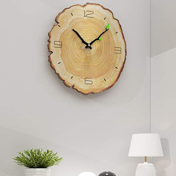 ÄTA WOOD - WALL CLOCK IN WOOD