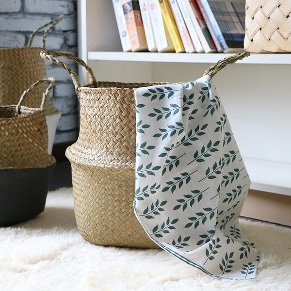 Woven Basket For Storage - WooCar Raw