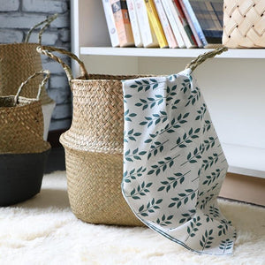 WooCar - Woven Rattan Basket - The Fancy Place