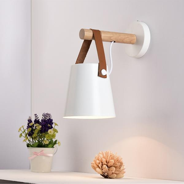 Tioka White - Wall Light For Bedroom