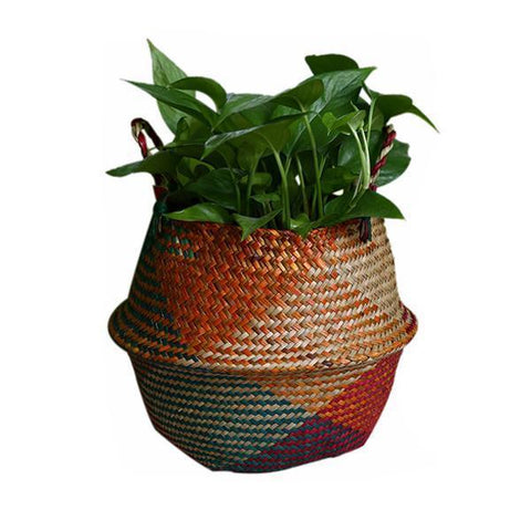 WooCar Red - Woven Basket For Storage