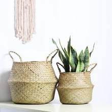 Load image into Gallery viewer, WooCar - Woven Rattan Basket - The Fancy Place