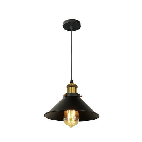 Black Hanging Light Fixture for Kitchen - Försyn Black