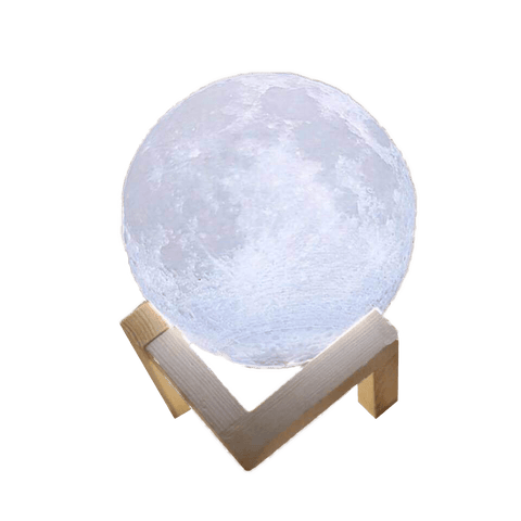 3D Moon LED - Table Lamp For Bedroom