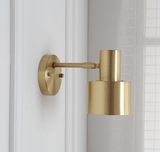 Gyllhem Gold - Wall Lamp With Swing Arm