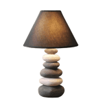Blande Contemporary Table Lamp Gray