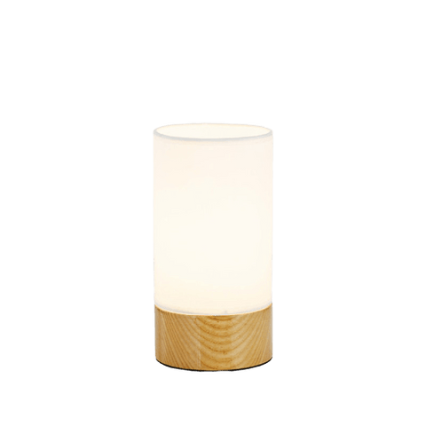 Contemporary Column Table Lamp Däcket Brown