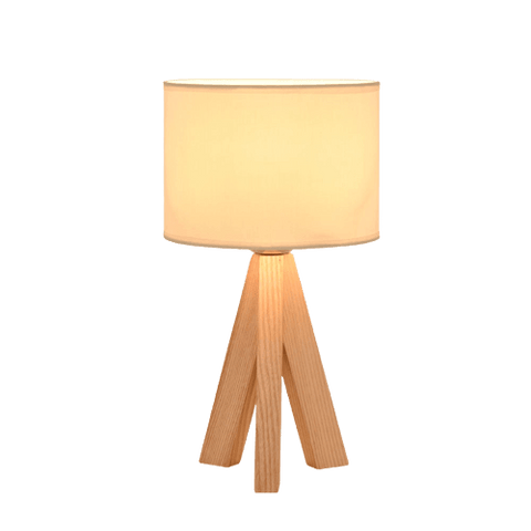 Gemens Contemporary Table Lamp White
