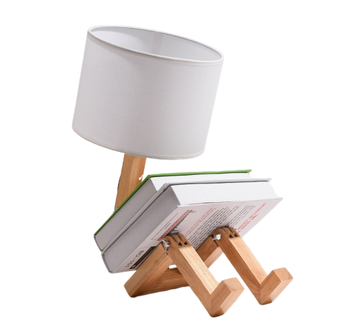 Hettas Contemporary Table Lamp White