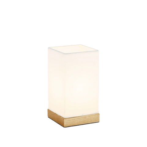 White Contemporary Table Lamp Jaavlä Brown