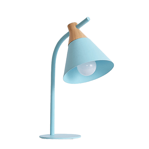 Contemporary Table Lamp Shades Regist Blue