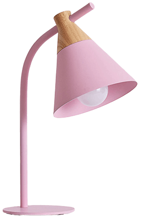 Regist Contemporary Table Lamp Pink