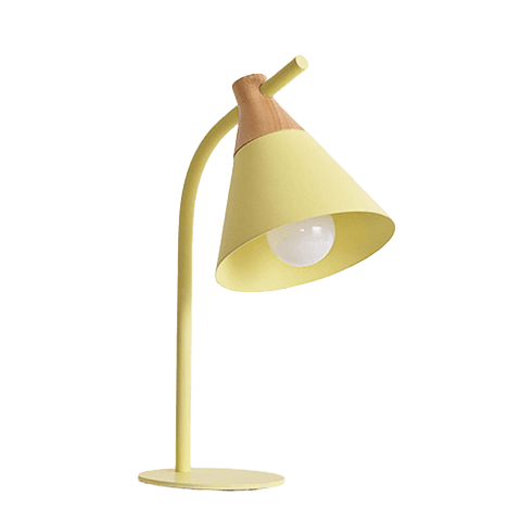 Regist Contemporary Table Lamp Yellow