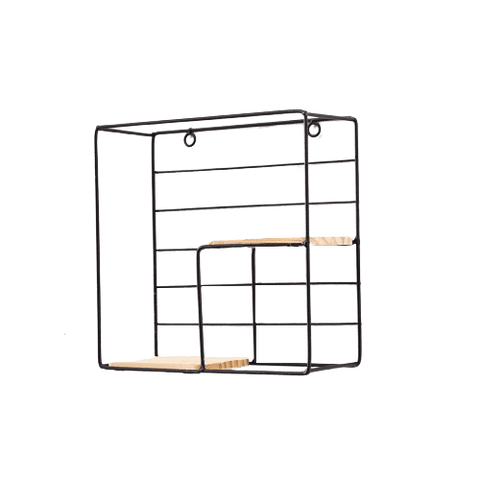 Lista Floating Shelves For Books Black