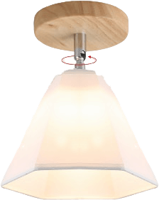 Börjad Flush Mounted Ceiling Light White