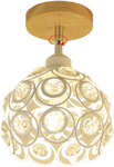 Fågels White Globe Flush Ceiling Light 98