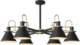 Fotsys Flush Mounted Ceiling Light Black