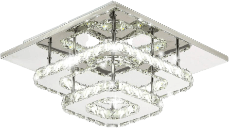 Gåexem Flush Mounted Ceiling Light Silver
