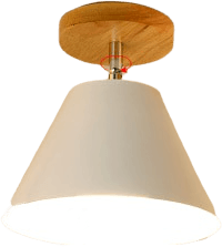 Gatatu White Flush Ceiling Light 67