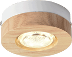 Gruppa Flush Mounted Ceiling Light Brown