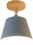 Oftabo Blue Flush Mount Ceiling Bathroom Light 143