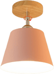 Oftabo Flush Mounted Ceiling Light Pink