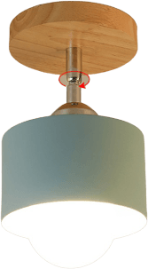 Tillsm Blue Modern Flush Mounted Ceiling Light 139