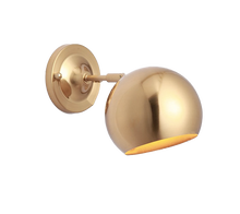 Load image into Gallery viewer, golden wall sconce light fixtures for bathroom living room or kitchen