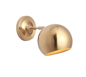 golden wall sconce light fixtures for bathroom living room or kitchen