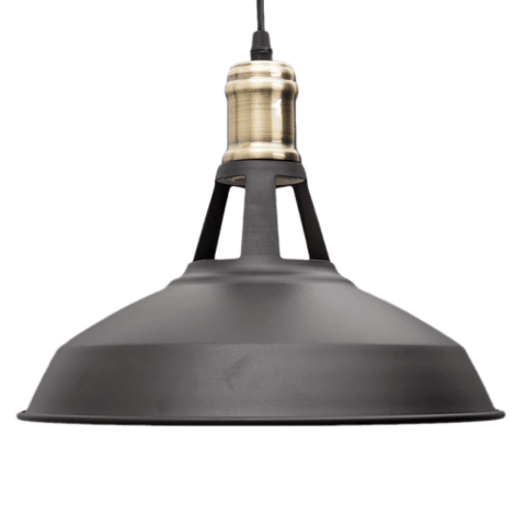 Hanging Light Fixture in Stairwell - Draghö Black
